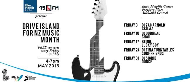 NZ Music Month Celebrations - 95bFM Drive Island