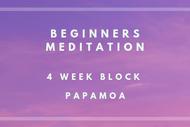 Image for event: Beginners Meditation - 4 Week Block