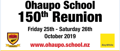 Ohaupo School 150th Reunion