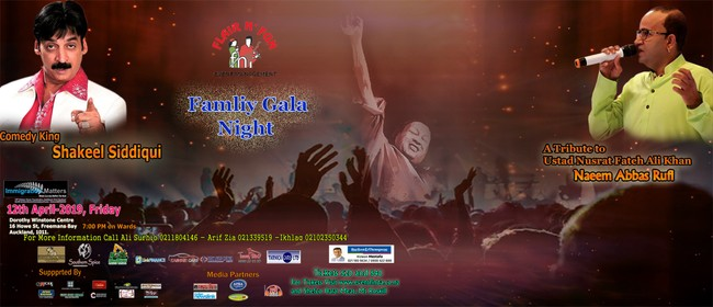 Family Gala Night- Musical and Comedy Show
