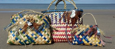 Creative flax weaving & dyeing workshop - Golden Bay