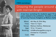 Image for event: An Artist's View of Frances Hodgkins with Harriet Bright
