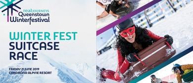Winter Fest Suitcase Race