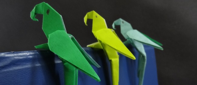 Japanese Origami Drop-in Family Activity Days