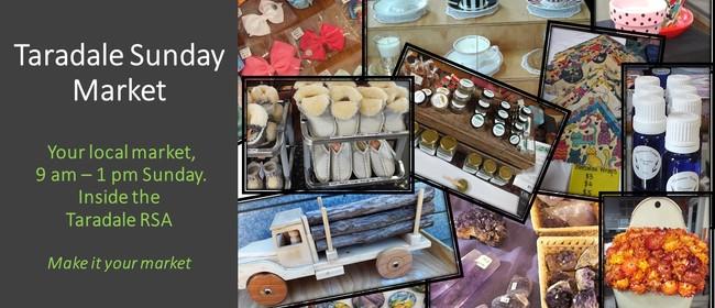 Taradale RSA Sunday Market (Inside)