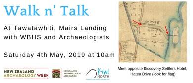 Walk n' Talk at Tawatawhiti Mair's Landing