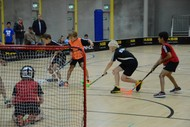 Image for event: Floorball (Indoor Hockey) - Have a Go Day