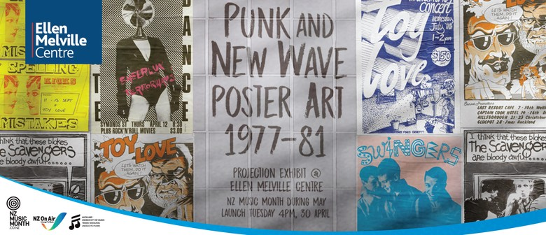 Inner City Punk and New Wave Poster Art 1977-81