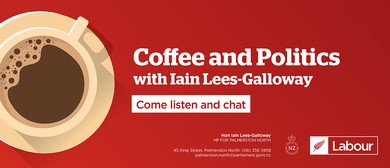Coffee & Politics - MPs Iain Lees-Galloway & Kieran McAnulty