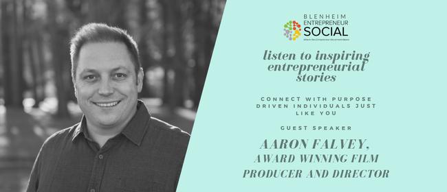 Entrepreneur Social Aaron Falvey, award winning Film Maker