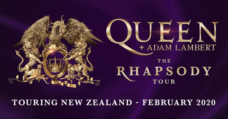 Queen + Adam Lambert - The Rhapsody Tour 2020 - Dunedin - Eventfinda