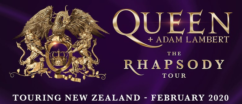 Queen + Adam Lambert - The Rhapsody Tour 2020 - Dunedin