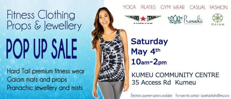Kumeu Women's Fitnesswear, Props and Jewellery Pop Up Sale