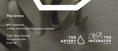 The Artery Print Club - Open Workshop