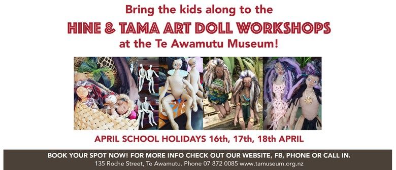 Hine & Tama Art Doll Workshops