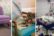 Image for event: 2-Day Arm Chair Upholstery Workshop