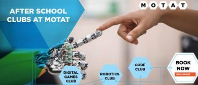 After School Club - Digital Games Club (Mondays in Term 2)