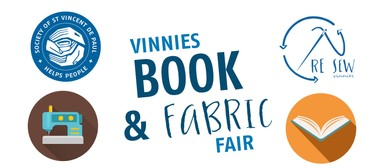 Vinnies Book & Fabric Fair