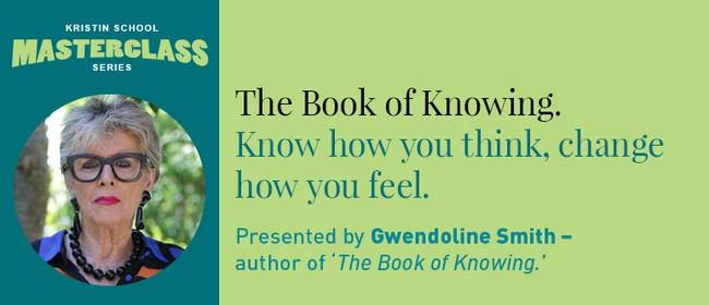 """Kristin School Masterclass """"The Book of Knowing"""""""