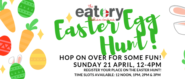 The Eatery's Great Annual Easter Egg Hunt