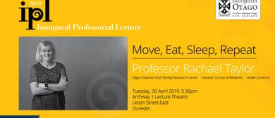 Inaugural Professorial Lecture - Professor Rachael Taylor
