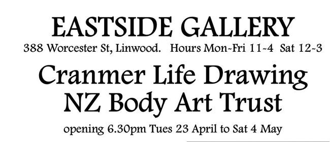 Cranmer Life Drawing & NZ Body Art Trust