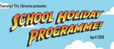 Taonga Māori - Drop-in School Holiday Session