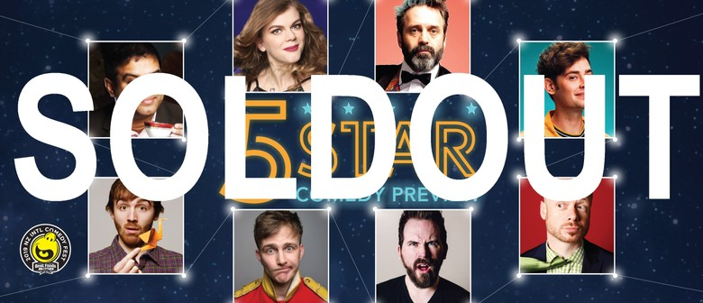 5 Star Comedy Preview 2019: SOLD OUT