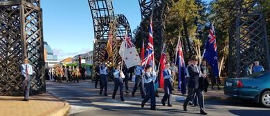 Rotorua's ANZAC Parade and Civic Memorial Service