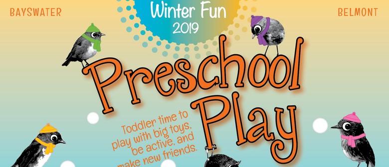 Winter Fun Preschool Play Sessions 2019