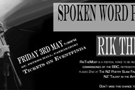 Image for event: Spoken Word Poetry with RikTheMost