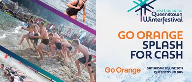 Go Orange Splash for Cash