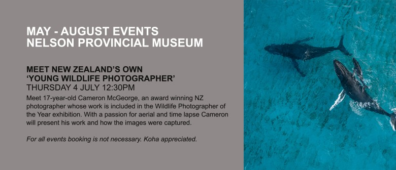 Meet New Zealand's Young Wildlife Photographer of the Year