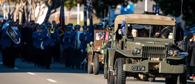 Anzac Day - Porirua City Civic Service