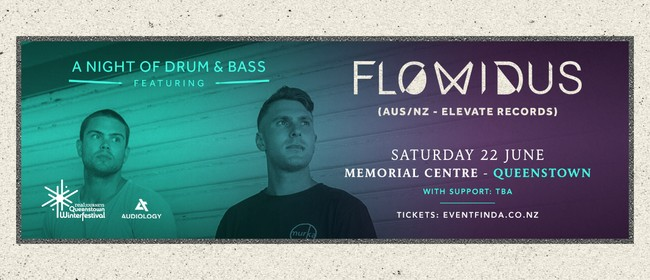 Audiology Presents a Night of Drum & Bass Ft Flowidus
