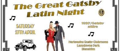 The Great Gatsby Latin Night