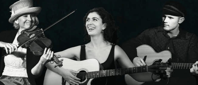 Katie Martucci with Mark Mazengarb & Jess Hindin