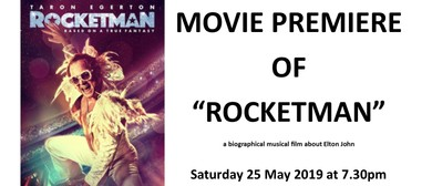 Rocketman Movie Premiere