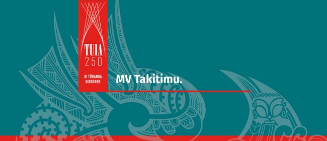 History on the MV Takitimu: CANCELLED