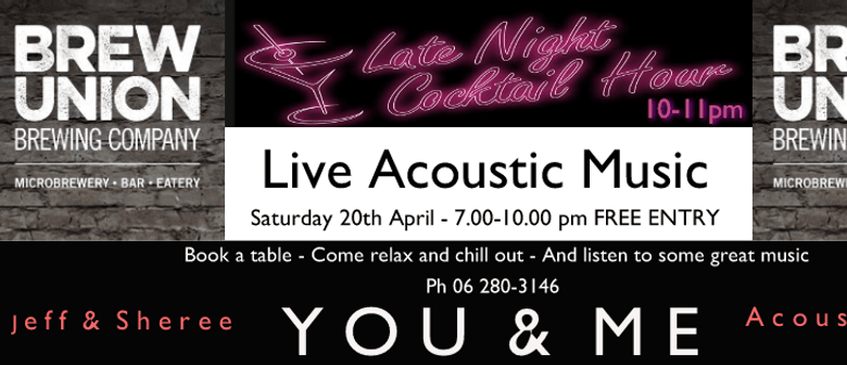 You & Me Acoustic Duo