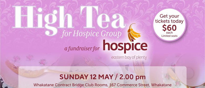 High Tea for Hospice On Mother's Day