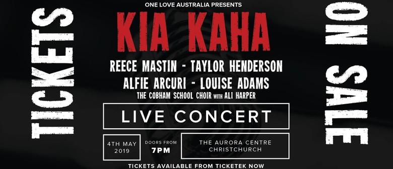 Kia Kaha Concert - (Australia's Tribute to Christchurch)