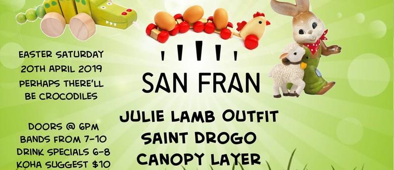 Julie Lamb Outfit, Saint Drogo, Canopy Layer
