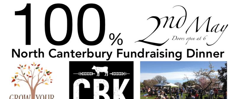 100% North Canterbury Fundraising Dinner
