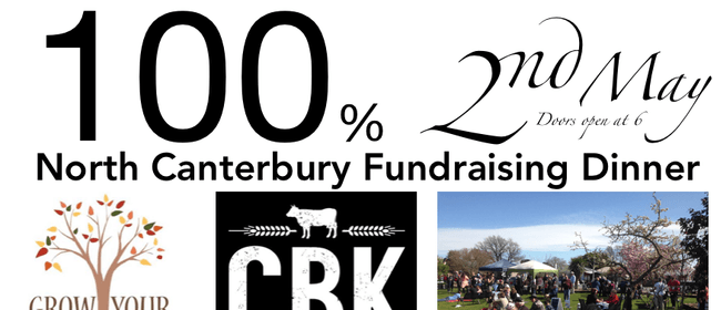 100% North Canterbury Fundraising Dinner