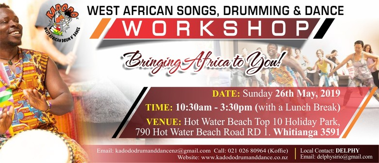 African Drumming and Dance Workshop - Full Day