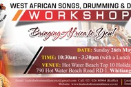 Image for event: African Drumming and Dance Workshop - Full Day