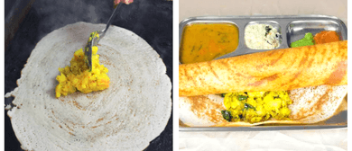 Dosa Kitchen at the Arts Center Market