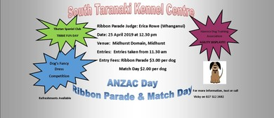ANZAC Day Ribbon Parade and Match Day