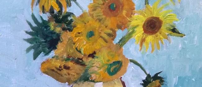 Paint and Wine Night - Sunflowers - Paintvine